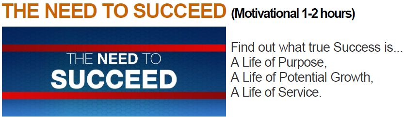 need to succeed